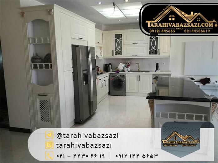 خرید کابینت آشپزخانه در شمال غرب تهران و سعادت آباد
