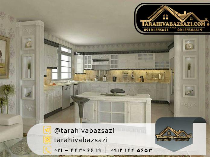 خرید کابینت آشپزخانه در ستارخان | دکوراسیون دیزاین