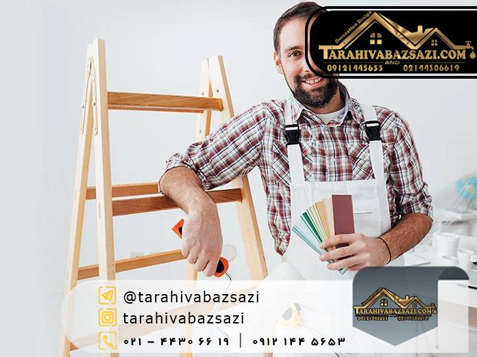 بهترین زمان نقاشی ساختمان | بازسازی ساختمان | بازسازی ساختمان غرب تهران