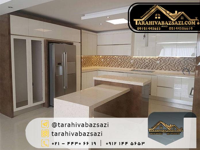 خرید کابینت آشپزخانه در شمال غرب تهران و باغ فیض