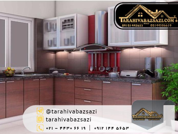 طراحی و باسازی آشپزخانه