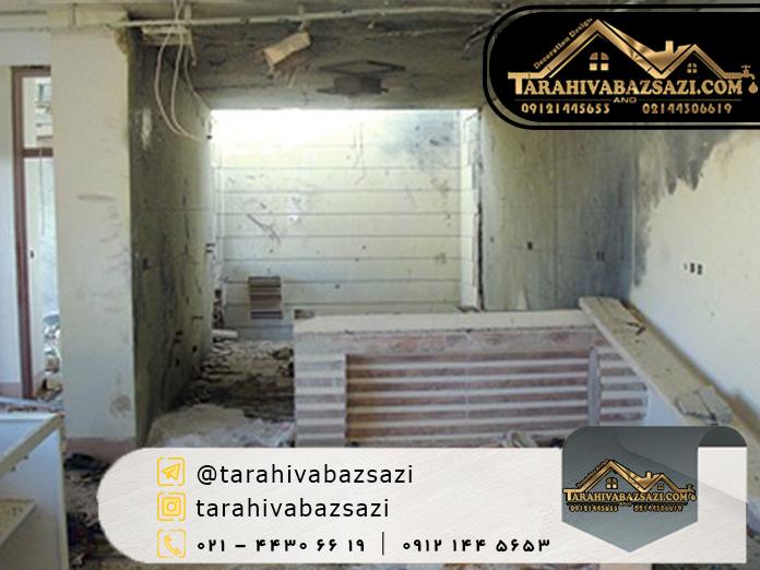 بازسازی خانه ارزان