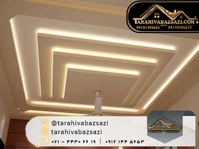 سقف کاذب | خرید سقف کاذب | بازسازی ساختمان | طراحی و بازسازی