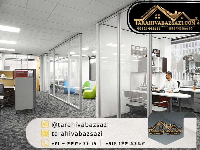 بازسازی ساختمان شرکت | بازسازی ساختمان | دکوراسیون دیزاین