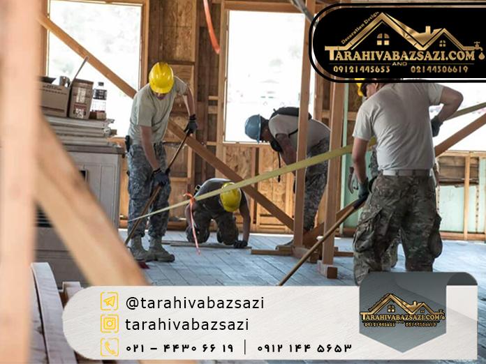 خدمات تعمیر و بازسازی ساختمان | بازسازی ساختمان | دکوراسیون دیزاین