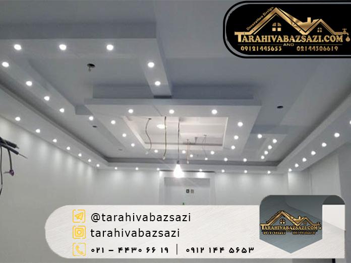 سقف کاذب | اجرای سقف کاذب | بازسازی ساختمان | دکوراسیون دیزاین