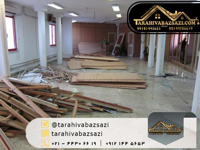 تعمیرات ساختمان در غرب تهران | بازسازی ساختمان | دکوراسیون دیزاین