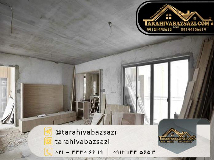بازسازی ساختمان در شمال تهران | بازسازی ساختمان در تهران | طراحی و بازسازی
