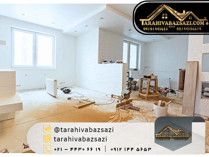 بازسازی ساختمان در تجریش | بازسازی ساختمان | طراحی و بازسازی