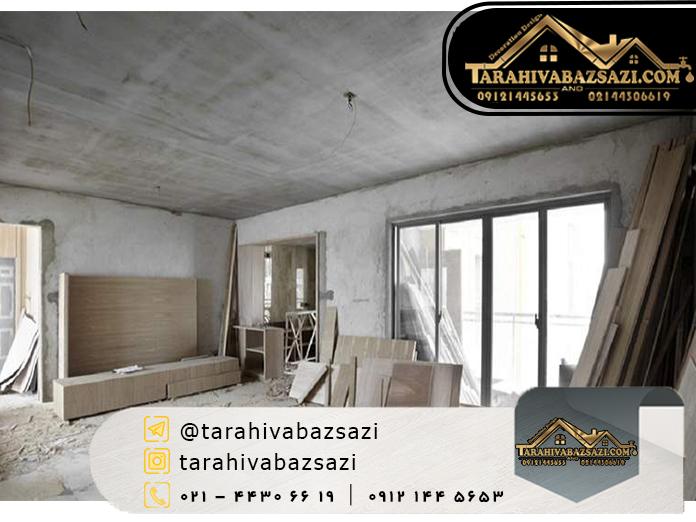 بازسازی ساختمان در شمال تهران | بازسازی ساختمان | طراحی و بازسازی